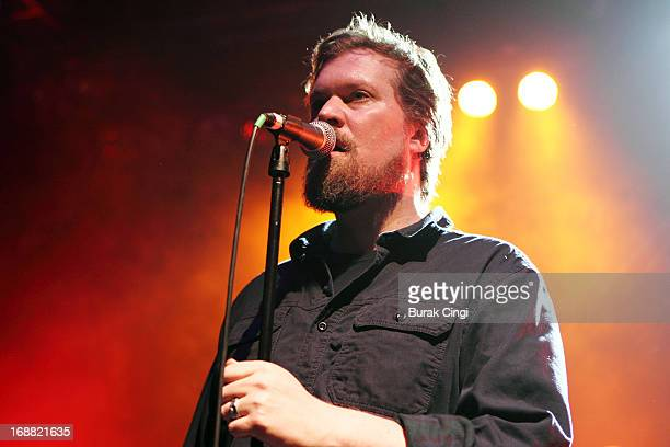 John Grant performs on stage at O2 Shepherd's Bush Empire on May 15 2013 in London England