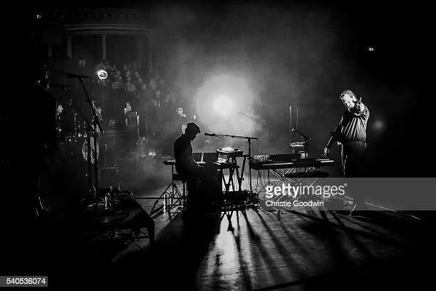 John Grant performs on stage at Royal Albert Hall on June 15 2016 in London England