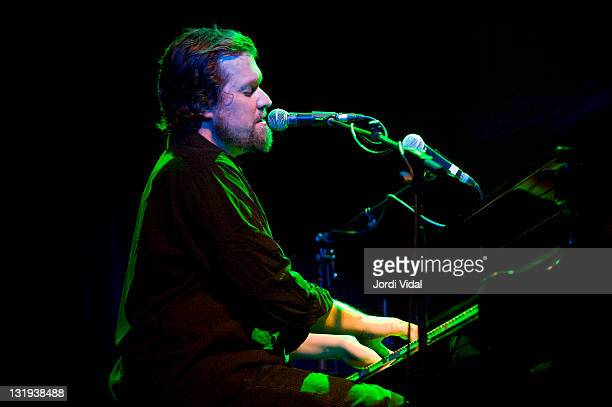 John Grant performs on stage at Sala Apolo on November 8 2011 in Barcelona Spain