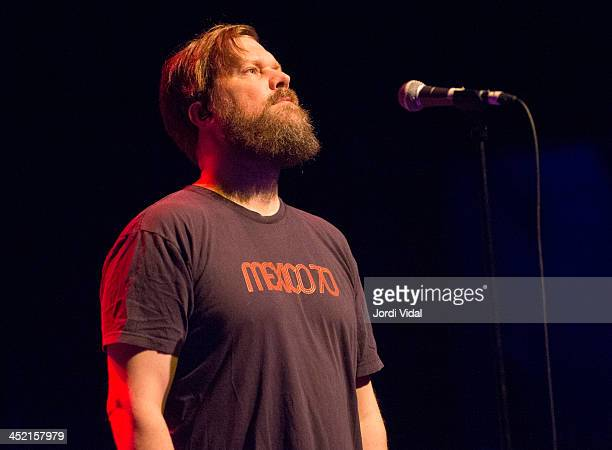 John Grant performs on stage during Festival Internacional de Jazz de Barcelona at Barts on November 26 2013 in Barcelona Spain