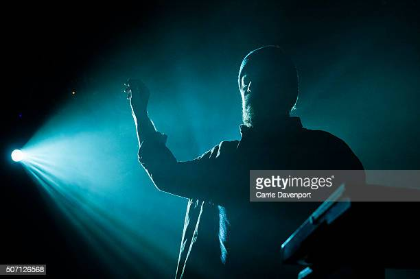 John Grant performs onstage at Mandela Hall on January 27 2016 in Belfast Northern Ireland