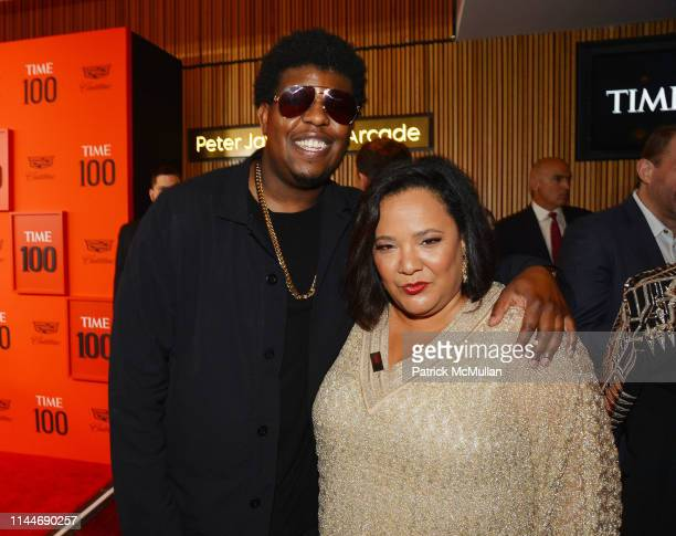 John Gray and Dream Hampton attend the Time 100 Gala 2019 at Jazz at Lincoln Center on April 23 2019 in New York City