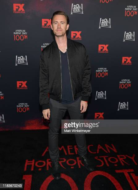 John Gray attends FX's American Horror Story 100th Episode Celebration at Hollywood Forever on October 26 2019 in Hollywood California