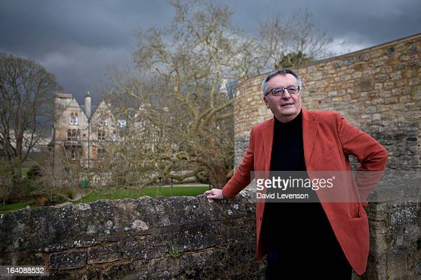 John Gray political philosopher and writer attends the Sunday Times Oxford Literary Festival at the Bodleian Library on March 19 2013 in Oxford...