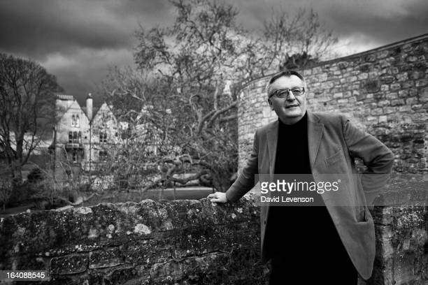 John Gray writer and philosopher attends the Sunday Times Oxford Literary Festival in Corpus Christi on March 19 2013 in Oxford England