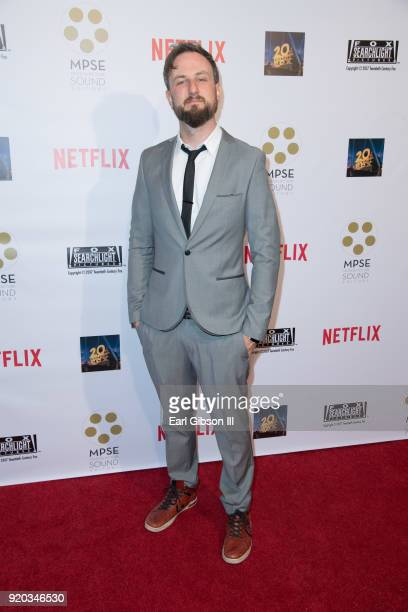 John Greasley attends the 65th Annual Motion Picture Sound Editors Golden Reel Awards on February 18 2018 in Los Angeles California