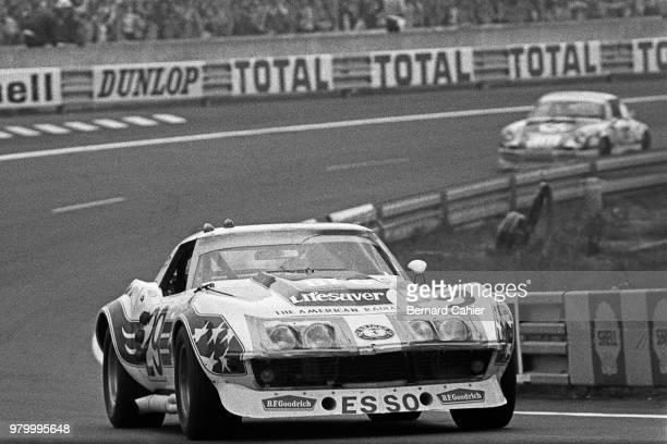 John Greenwood Chevrolet Corvette 24 Hours of Le Mans Le Mans 10 June 1973