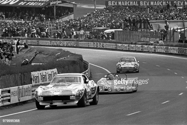 John Greenwood Chevrolet Corvette 24 Hours of Le Mans Le Mans 11 June 1972