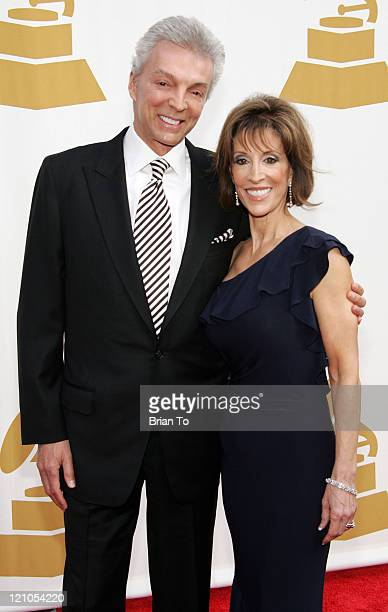 John Griffeth and Deana Martin arrive at The Recording Academy's Special Merit Awards Ceremony at Wilshire Ebell Theater on February 7 2009 in Los...