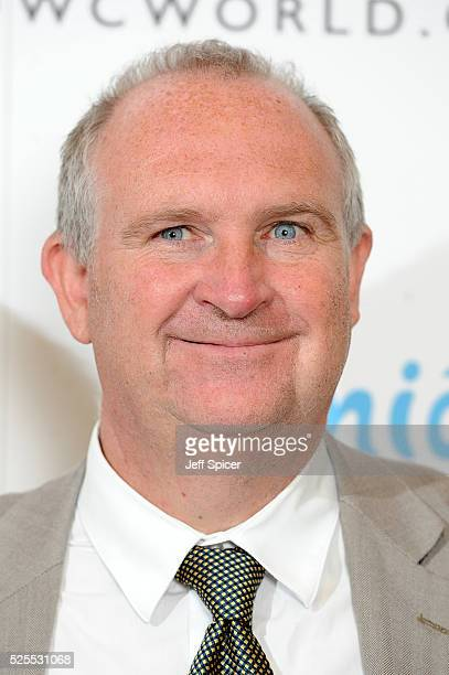 John Grimshaw Chairman of the BLOCH Dance World Cup arrives at the launch of the 2016 annual BLOCH Dance World Cup on April 28 2016 in London England