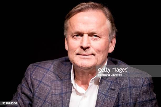 John Grisham attends 'Tempo Di Libri' book show on March 9 2018 in Milan Italy