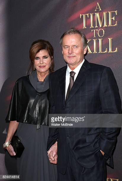 John Grisham & Renee Grisham attends the Broadway Opening Night Performance of 'A Time To Kill' at the Golden Theatre in New York City on October 20,...