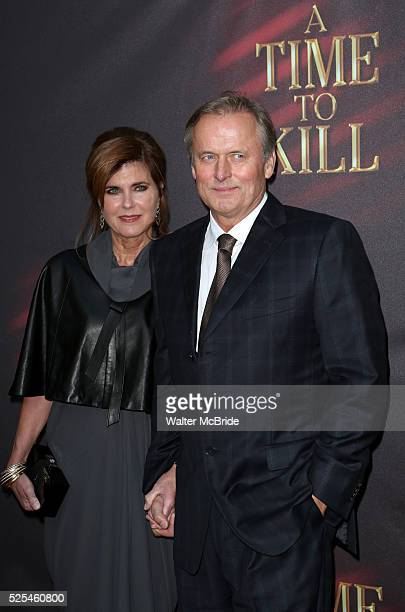 John Grisham wife Renee Grisham attends the Broadway Opening Night Performance of 'A Time To Kill' at the Golden Theatre in New York City on October...