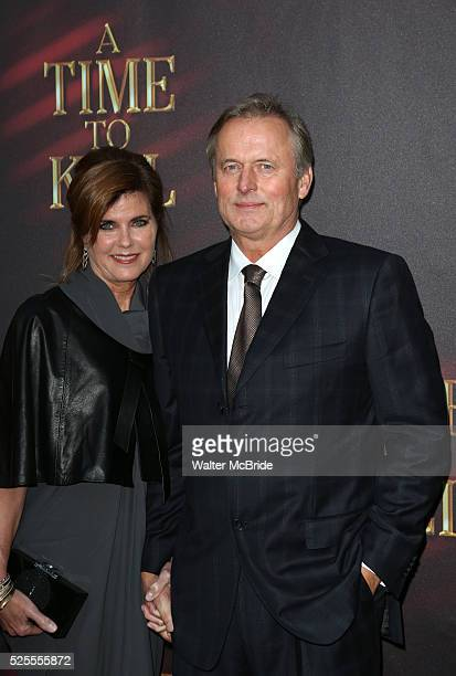 John Grisham & wife Renee Grisham attends the Broadway Opening Night Performance of 'A Time To Kill' at the Golden Theatre in New York City on...