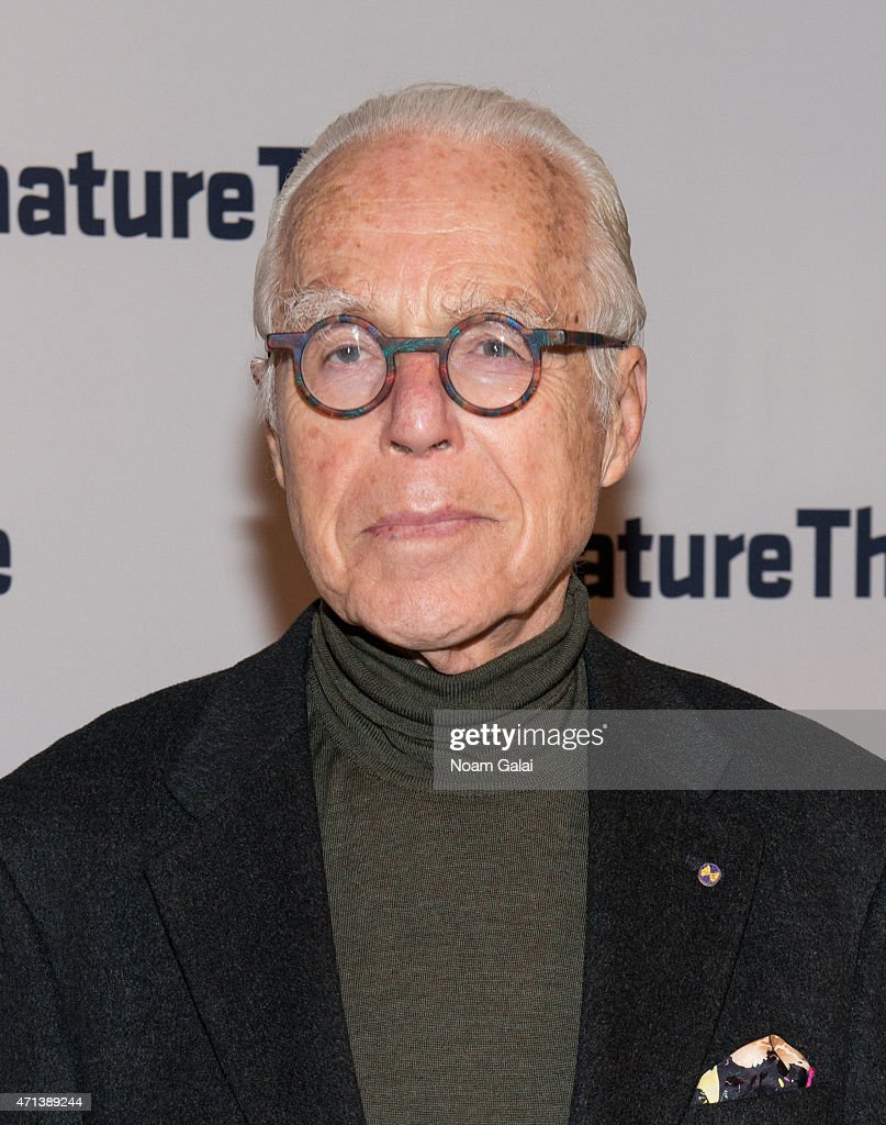John Guare attends the 2015 Signature Theatre Gala at The Signature Center on April 27, 2015 in New York City.