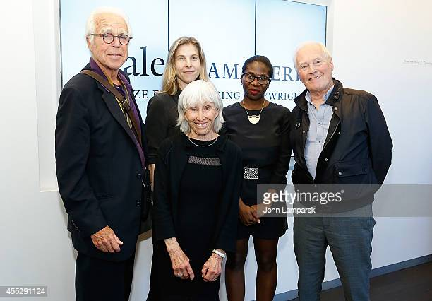 John Guare, Francine Horn, Carolyn Cantor, Janine Nabers and Nicholas Wright attend 8th Annual Yale Drama Series Awards Ceremony at Lincoln Center...