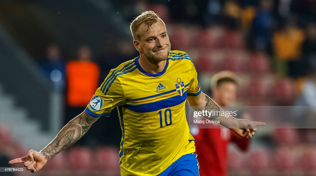 Denmark v Sweden - UEFA Under21 European Championship 2015 : News Photo