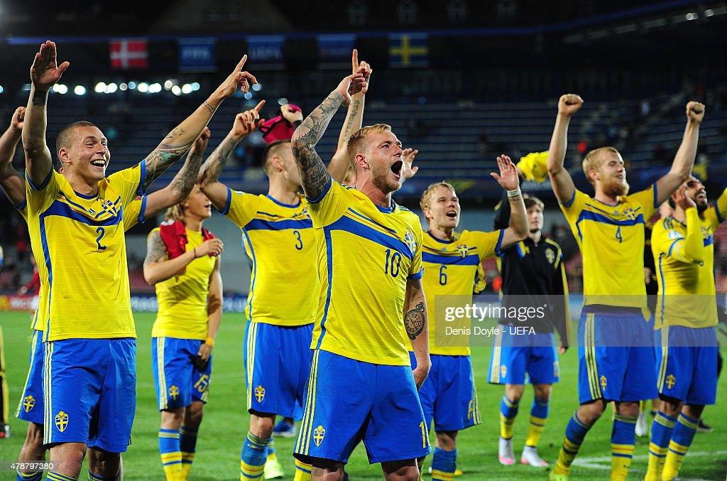 Denmark v Sweden - UEFA Under21 European Championship 2015