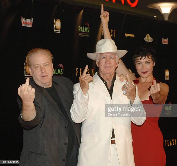 John Gulager Clu Gulager and Diane Goldner during Feast World Premiere at Brenden Theaters at The Palms Hotel and Casino Resort in Las Vegas Nevada