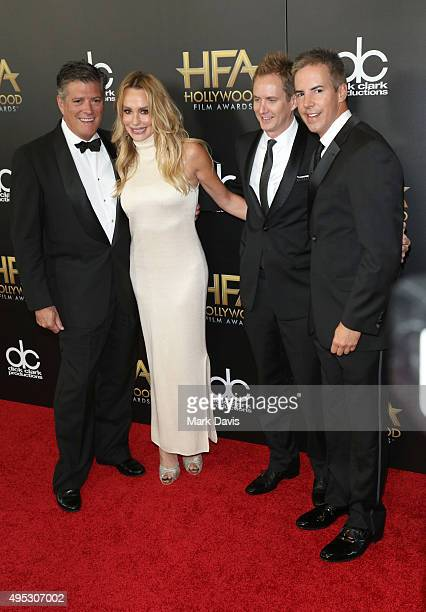 John H Bluher TV personality Taylor Armstrong and guests attend the 19th Annual Hollywood Film Awards at The Beverly Hilton Hotel on November 1 2015...