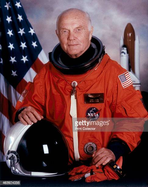 John H Glenn American astronaut May 1998 In October 1998 the STS95 mission flew from the Kennedy Space Center with the aim of examining the effects...