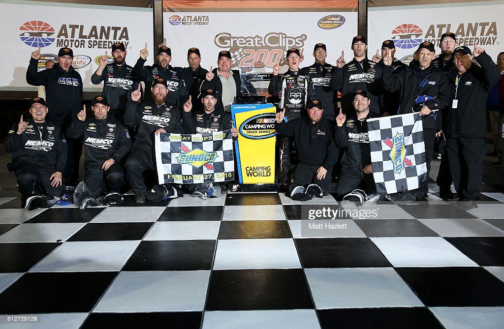 NASCAR Camping World Truck Series Great Clips 200 : News Photo