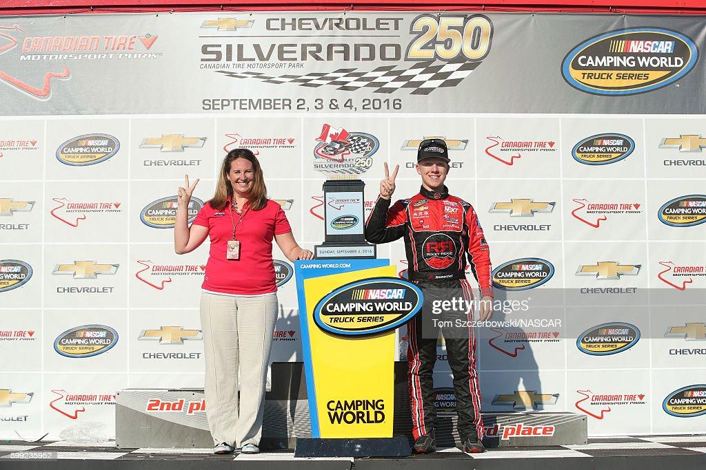 NASCAR Camping World Truck Series Chevrolet Silverado 250 Photos and ...