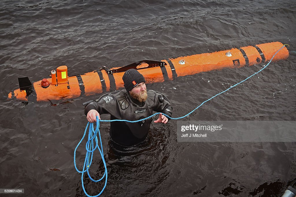 """Loch Ness Monster"" Found : News Photo"