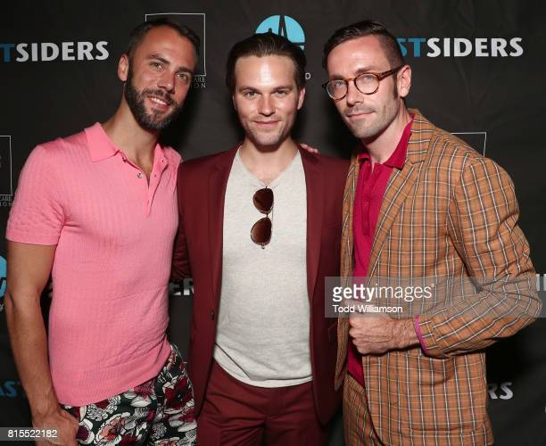 John Halbach Van Hansis and Kit Williamson attend the 'EastSiders' Premiere And After Party At Outfest on July 15 2017 in Los Angeles California