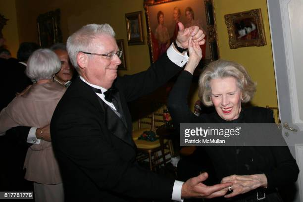 John Haley and Bebe Adler attend Portrait artist ZITA DAVISSON's Great Gatsby Party A Roaring 20's Evening at Private Residence on October 20 2010 in...