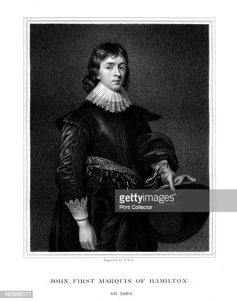 John Hamilton 1st Marquess of Hamilton Scottish aristocrat Hamilton wearing a lace collar and cuffs