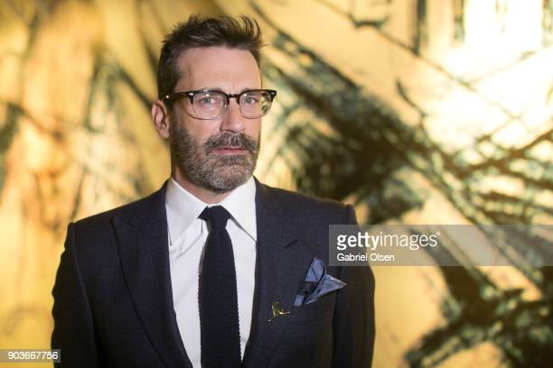 John Hamm attends the 23rd Annual LA Art Show Opening Night Premiere Gala Benefiting St Jude Children's Research Hospital at Los Angeles Convention...
