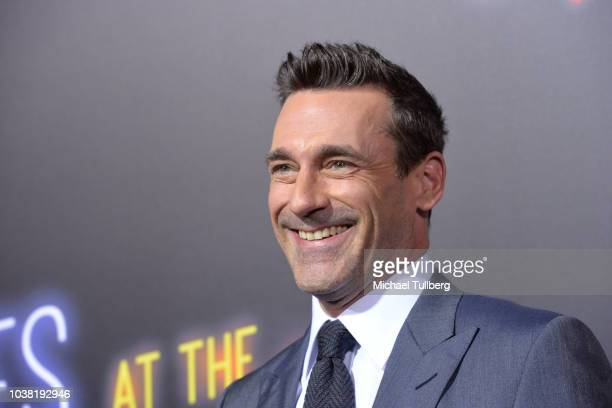 John Hamm attends the premiere of 20th Century FOX's Bad Times At The El Royale at TCL Chinese Theatre on September 22 2018 in Hollywood California