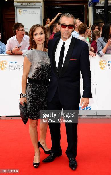 John Hannah and Joanna Roth arriving for the BAFTA television awards at the London Palladium