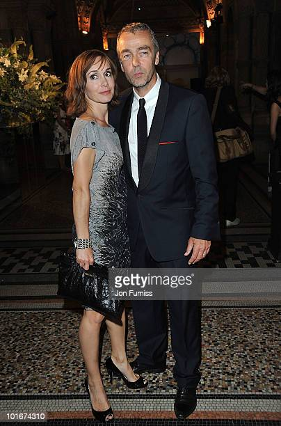 John Hannah and Joanna Roth attend the Philips British Academy Television Awards after party at the Natural History Museum on June 6 2010 in London...