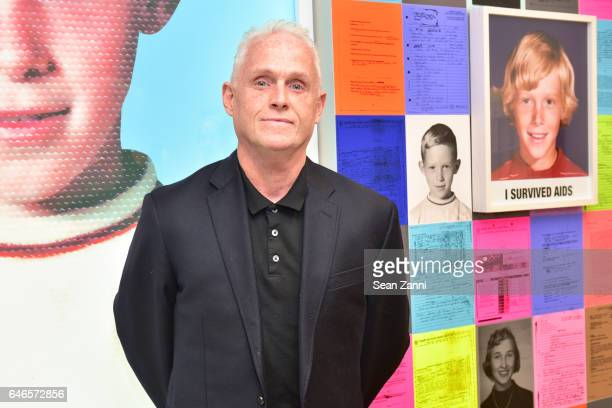 John Hanning attends Spring Break Art Fair 2017 Vernissage at 4 Times Square on February 28 2017 in New York City