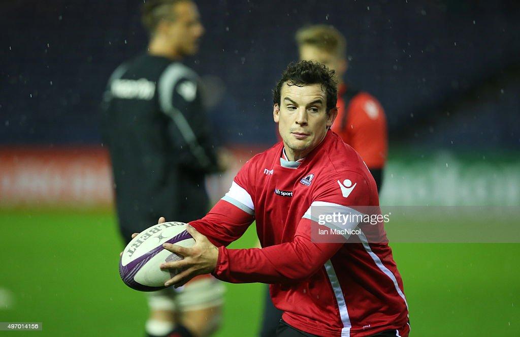 Edinburgh Rugby v Grenoble - European Rugby Challenge Cup : News Photo