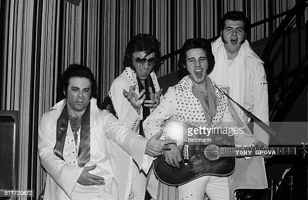 John Harker of Kitchener of Canada Gregg Peters of Queens New York Tony Grova of Oaklawn New Jersey and Frank Tammera of Livingston New Jersey are...
