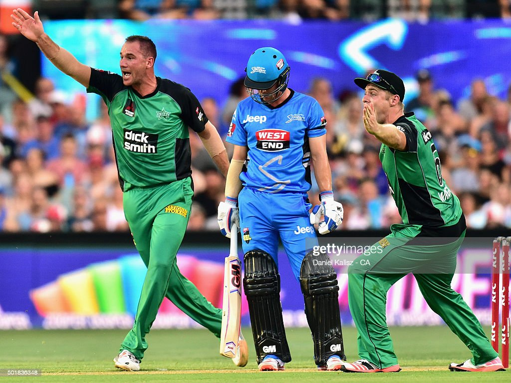 Big Bash League - Adelaide Strikers v Melbourne Stars