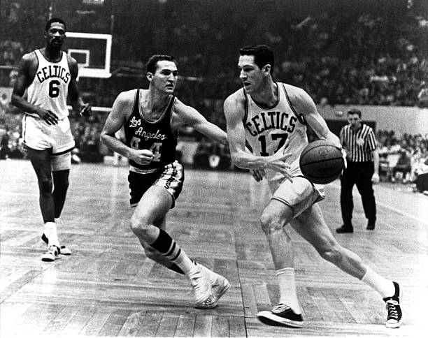 John Havlicek of the Boston Celtics