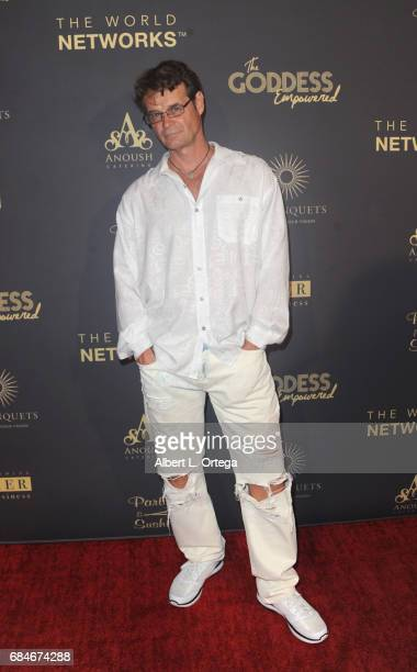 John Hawkins arrives for The World Networks Presents Launch Of The Goddess Empowered held at Brandview Ballroom on May 17 2017 in Glendale California