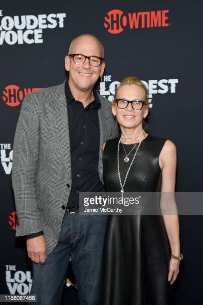 John Heilemann and Diana R Rhoten attend The Loudest Voice New York Premiere at Paris Theatre on June 24 2019 in New York City
