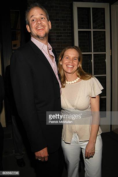 John Heilman and Diana Rhoten attend Tina Brown and Harry Evans Hosts a dinner for Al Gore's Film and Book AN INCONVENIENT TRUTH about Global Warming...