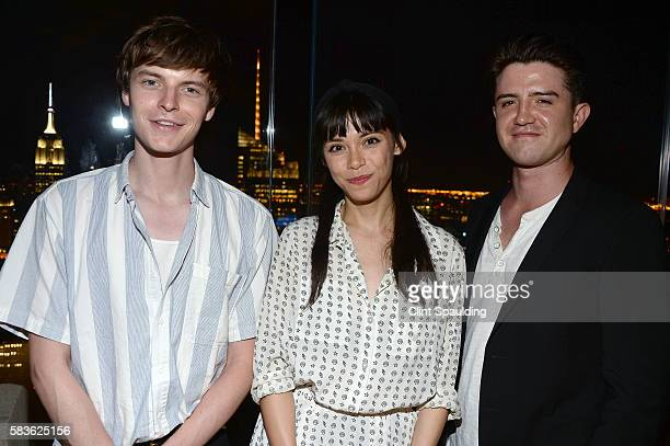 John Hein Mitzi Akaha and Joseph Huffman attend the After Party for Sony Pictures Classics' Equity hosted by The Cinema Society with Bloomberg Thomas...