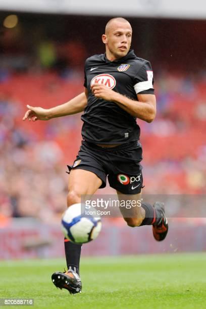 John HEITINGA Arsenal / Atletico Madrid Emirats Cup Emirats Stadium Londres