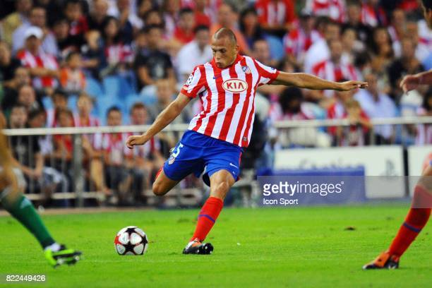 John HEITINGA Atletico Madrid / Panathinaikos Tour Preliminaire Champions League 2009/2010 Stade Vicente Calderon Madrid
