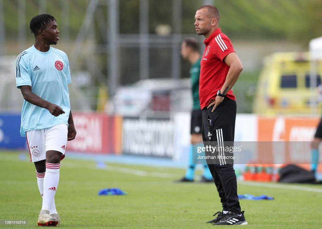 Midtylland v Ajax - UEFA Youth League Quarter Final : News Photo