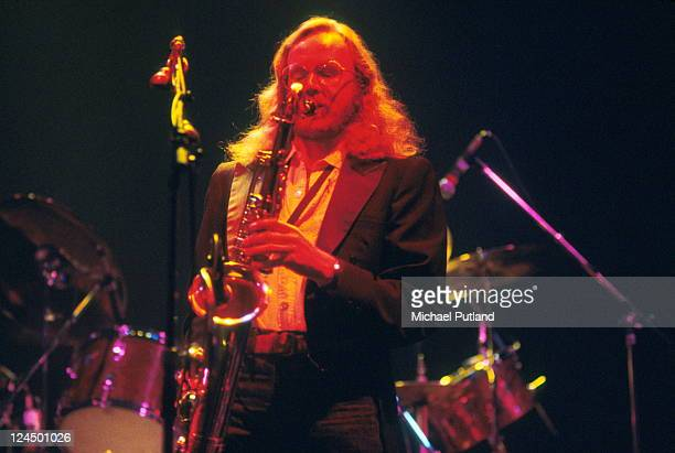 John Helliwell of Supertramp performs on stage USA 1979