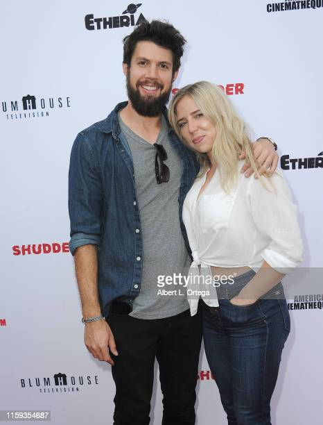 John Henry Hinkle and Isabell Harden attend the 6th Annual Etheria Film Showcase held at American Cinematheque's Egyptian Theatre on June 29 2019 in...