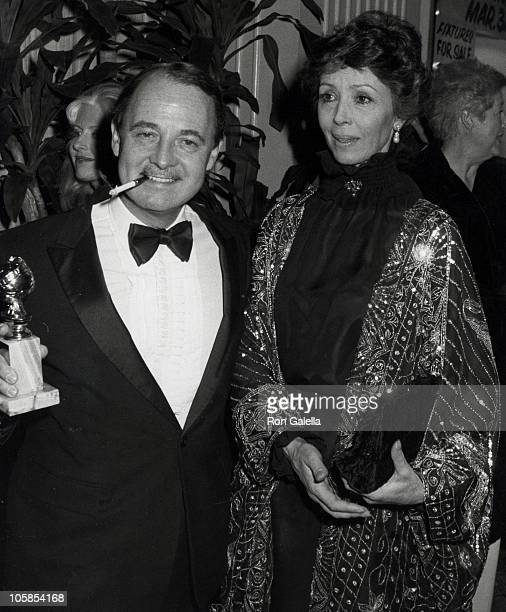 John Hillerman and Dana Winter during 39th Annual Golden Globe Awards at Beverly Hilton Hotel in Beverly Hills California United States